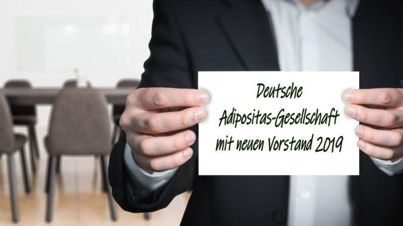 Adipositas-Gesellschaft hat einen neuen Vorstand