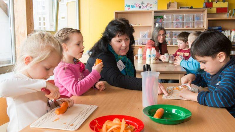 Frühkindliche Ernährungsbildung in der Rhein-Neckar Region
